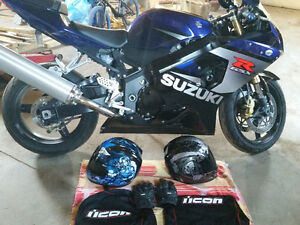 GsxR 750 package deal . Must go
