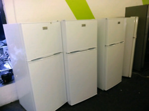 Apartment size fridges  with 1 year warranty  parts and labour