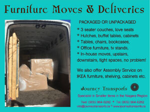 IKEA furniture pick up, delivery and assembly.  Best rates