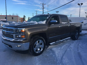 *WOW*2014 CHEV SILVERADO 1500 CREW LTZ LOW KS