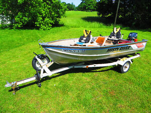14' Misty River/Yamaha Boat Package