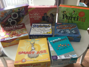 Party Games - board games
