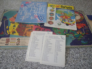 Oh! Canada Educational Game Set Vintage 1970's West Island Greater Montréal image 2
