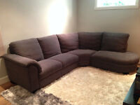 Lounge sofa IKEA 'NEW' perfect condition cost $1600 + tax