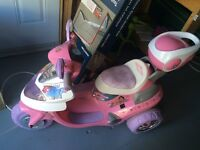 6V battery Operated Girls Scooter