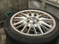 BMW ALLOY WHEELS 225/40 ZR 18 92Y