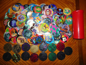 Lot of POGs (milkcaps and slammers)