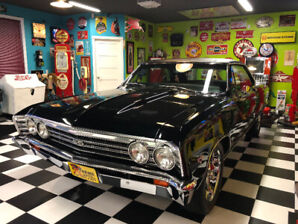 Chevrolet Chevelle 1967. 572 crate engine, Show Car