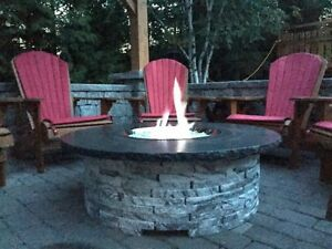 Granite fire pits by Realstone