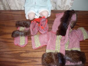 Cabbage Patch Doll / Eskimo outfit for sale as well Edmonton Edmonton Area image 2