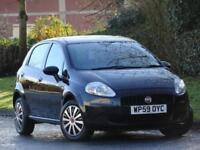 Fiat Grande Punto 1.4 2009 BLACK 5 DOOR + CAMBELT DONE +JUST SERVICED