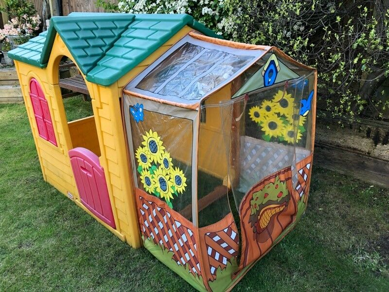 Fine Little Tikes Garden Cottage Playhouse Play House With Conservatory In Southampton Hampshire Gumtree Download Free Architecture Designs Saprecsunscenecom