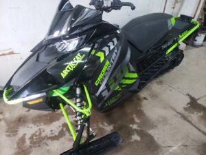 2017 ARCTIC CAT XF 9000 TURBO CROSS COUNTRY WITH UPGRADES