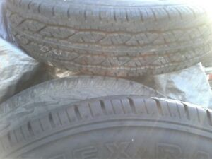 2 FIRESTONE STEELTEX