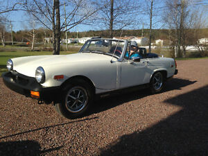 For sale, 1979 MG Midget excellent condition