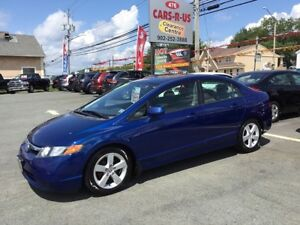 2007 Honda Civic LX   FREE 1 YEAR PREMIUM WARRANTY INCLUDED!