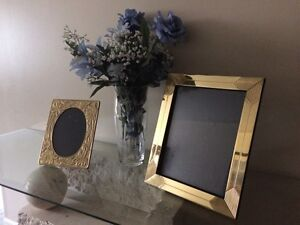 BRASS PICTURE FRAMES - $10 EACH!