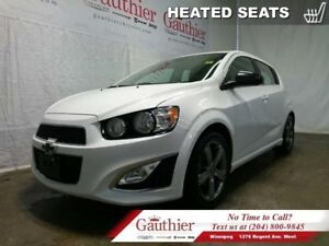 2013 Chevrolet Sonic RS  - Heated Seats - Leather Seats
