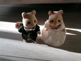 Sylvanian families Wedding couple