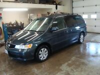 2003 HONDA ODYSSEY VAN 7 PASS $3500 TAX IN CHANGED INTO UR NAME