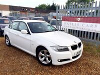 BMW 320D EFFICIENT DYNAMICS MANUAL WHITE 5 DOOR SALOON
