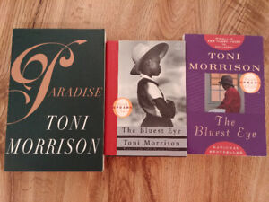 Toni Morrison Books $4 each or $10 for all