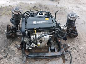 Vauxhall vectra engine