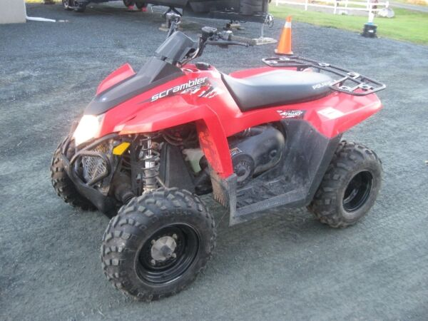 Used 2010 Polaris Srambler 500 HO AWD