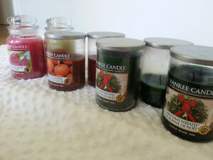 Large Lot of Yankee Candles