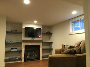 1 Bdrm Bsmt Suite--FULLY RENOVATED