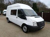 2013 Ford Transit, T350 LWB, Welfare Van, Mess Van, Workshop, Sat Nav, Air Con