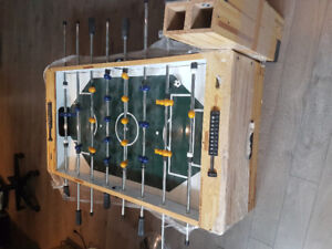 Foosball table in excellent condition.  Great Christmas gift