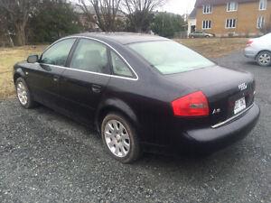 2001 Audi A6 Berline**TOIT, MAGS ET CUIR**MOTEUR PART PAS**