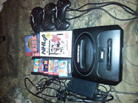 Sega Genasis Console and games for sale!