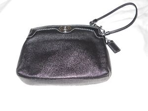 COACH black little bag