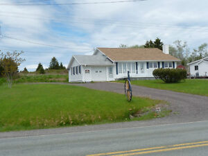 Large Family Home with Grg. on 12 Acres,  Four sale in Arichat