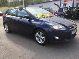 61 Ford Focus 1.6TDCi ( 115ps ) 2012MY Zetec