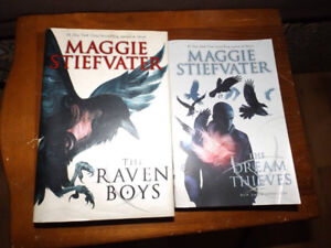 Maggie Stiefvater Raven boys book 1 and 2