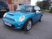2003 MINI 1.6 Cooper S - Chili, Cruise, Harman Kardon, Sunroof, Xenon