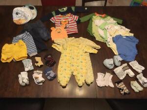 Lot vêtements 3 mois