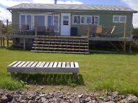 WINTERIZED 2 Bedroom Waterfront Cottage For Rent , Shediac, NB