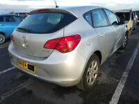 VAUXHALL ASTRA J 1.4 2013 BREAKING FOR SPARES PLEASE CALL BEFORE YOU COME