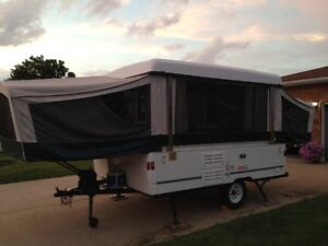 coleman camping trailer