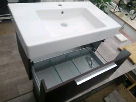 Basin cabinet wall mounted