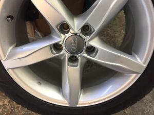 Audi 4 S4 rim tire 225/50/17