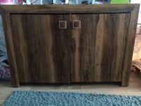 Tv unit and matching sideboard