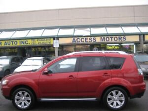 2010 Mitsubishi Outlander, 7 Pass, Leather, Sunroof, AWD, Clean