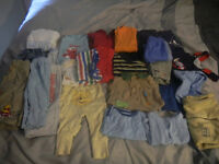 Boy's size 3-6 months clothing