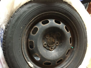 Set of 4 Blizzak winter tires