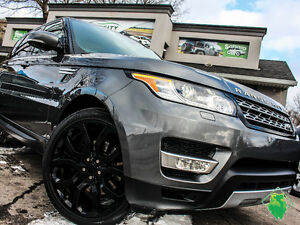 '14 RangeRover SPORT HSE+Nav+Roof+22' Rims+LOADED!Only $430/Pmts